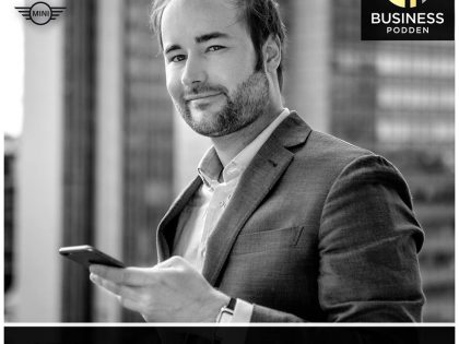 Swedish entrepreneur podcast Businesspodden – guest interview